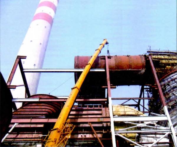 潍坊电厂烟道